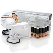 airbrush makeup review luminess air airbrush makeup kit
