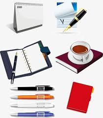 Creative Office Supplies Calendar Pen Ball Point Pen PNG Image