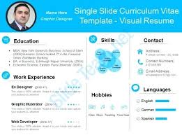 Resume In Powerpoint Free Cv Resume Powerpoint Template Kierralewis Com