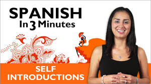 Learn Spanish Learn How To Introduce Yourself In Spanish Youtube