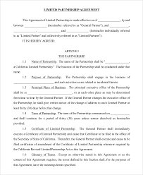 22 Partnership Agreement Samples And Templates Pdf Word