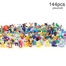 Set 144 Mô Hình Đồ Chơi Các Nhân Vật Trong Phim Hoạt Hình Pokemon chính  hãng 210,100đ