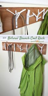 Stylish Coat Rack Bring the Outdoors in with This DIY Natural Branch Coat Rack 90