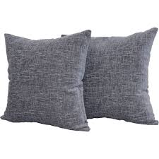Decorative Pillow Set Mainstays Chenille 18 X 18 Decorative Pillow Set Of 2 Walmartcom