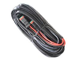 wiring harness for two lamps 73240 bright source hid