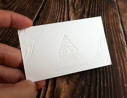 Letter Press Business Card Letterpress Business Card Printing Malaysia 600gsm