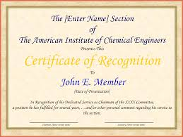 Certificate Of Recognition Wordings Example Certificate Of Recognition Free Sample Certificate