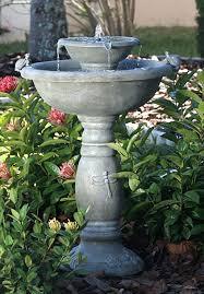 fountain garden. 18 Outdoor Fountain Ideas - How To Make A Garden For Your Backyard