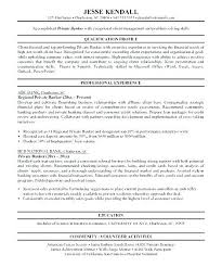 Resume For Personal Banker Banking Resume Samples Resume For