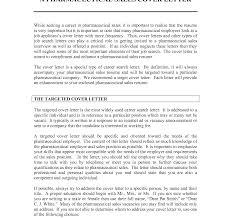 Pharmaceutical Sales Cover Letter Resume Badak Sample No Experience