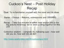 one flew over the cuckoos nest ppt 56 cuckoo s nest