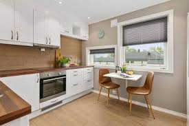 Ideally, you should use a spray gun; Spray Painting Kitchens How To Paint Cabinets Cupboards Cost