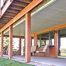Under Deck Patio Designs Under Deck Roof The Family Handyman