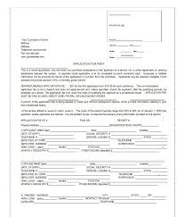 rent application form doc 42 rental application forms lease agreement templates