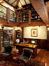 rustic home office. timber frame home rustichomeofficeandlibrary rustic office