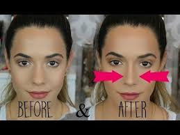nose contouring is a thing you can do because makeup is magic video bustle