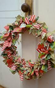 diy rag wreath