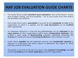 Hay Guide Chart Download Job Evaluation And Grading Process And Systems