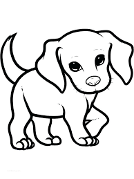 Mom and puppy coloring pages. Coloring Pages Puppy Pictures To Color Art Puppy Coloring Pages