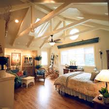 Classic Home with Vaulted Ceilings traditional-bedroom