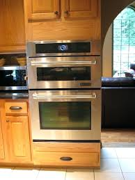 in wall double oven best double oven wall double wall oven with microwave convection