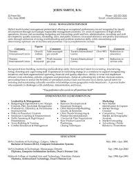 Sample Resume For Project Manager Position Lovely Project Manager