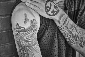 Kriss Kyle A Jeho Tetování Bmx Freestyle