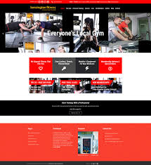 gym website design gym fitness web design