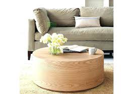 round oak coffee table round natural wood coffee table coffee table dot coffee and side table