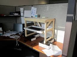 home made standing desk