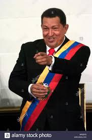 Venezuelan President Hugo Chavez ...