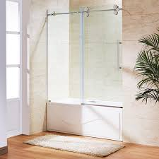 frameless sliding shower doors for tubs bathroom safety bathtub fanirrored door bathtubs cabinets
