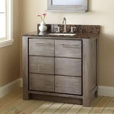 36 vanity with sink. 36 Bathroom Vanity With Sink. Venica Teak For Rectangular Undermount Sink Gray Wash I