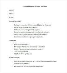 doctor cv sample doctor resume templates 15 free samples examples format