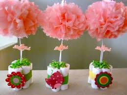 Baby Shower Table Centerpieces Ideas Pinterest