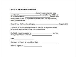 Medical Release Form For Grandparents Medical Consent Letter For Grandparents Tols