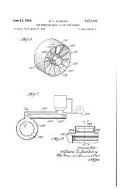 Patent us2473347 air directing means in gun type burners