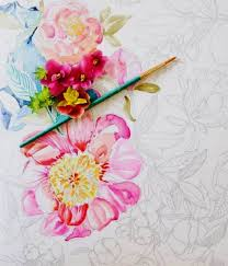 love coloring books and want to get even more creative painterly days watercolor coloring