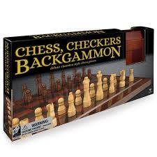 Wooden Board Games Canada Wooden 100Game Set Chess Checkers Backgammon Walmart Canada 21