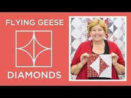 Make a Flying Geese Diamonds Quilt (Missouri Star Quilt Company ... & Make a Flying Geese Diamonds Quilt (Missouri Star Quilt Company - YouTube) Adamdwight.com