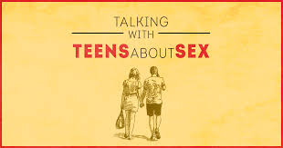 Sex talk with teenager