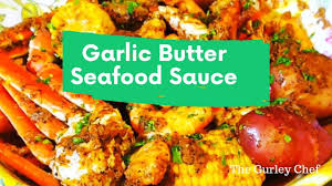 Seafood Boil Garlic Butter Sauce - YouTube