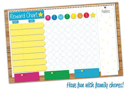 Family Responsibility Office Payment Chart Crafty Charts Family Responsibility Reward Chart Dry Erase