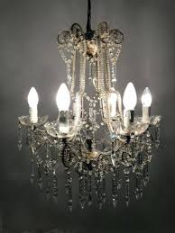 vintage crystal beaded chandelier dalila 2