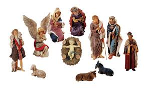 36 large 11 piece outdoor nativity statue set outdoor decoration com