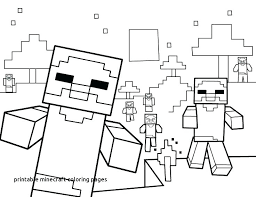 Coloring Pages Minecraft Coloring Sheets Pages Of House Stampy