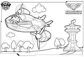 Paw Patrol Coloring Sheets Everest Pages Chase Page Awesome Pictures