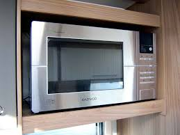 close up of the daewoo microwave in lovely condition
