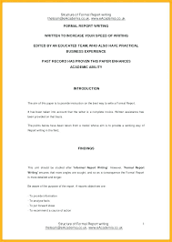 Format For An Executive Summary Executive Summary Format Template