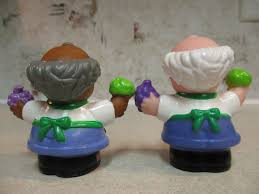 fisher price little people grocery store produce clerk aa bob prev
